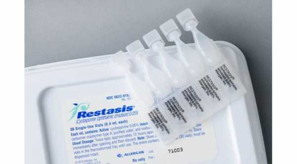Restasis Eye Drops (Cyclosporine Ophthalmic Emulsion)