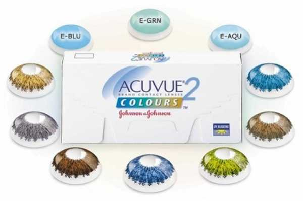 Acuvue 2 Colours Contact Lens Combines an Appealing Array