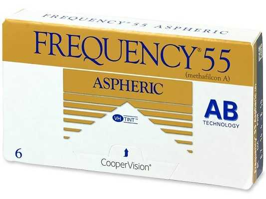 Frequency 55 Aspheric Contact Lens