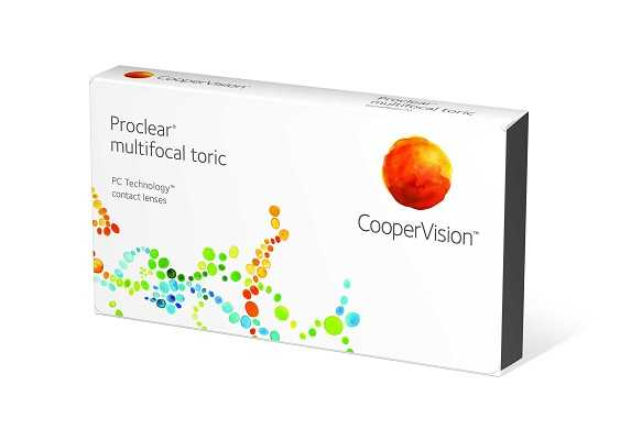 Proclear Multifocal Toric Lenses