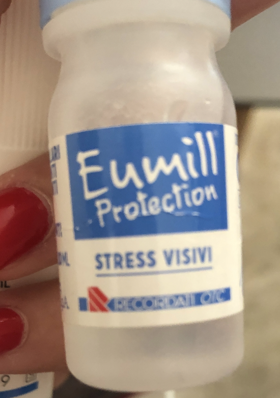 Eumil Protection Stress Visivi Eye Drops