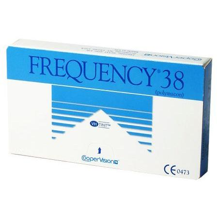 Frequency 38 contact lens works great for people that need low water levels