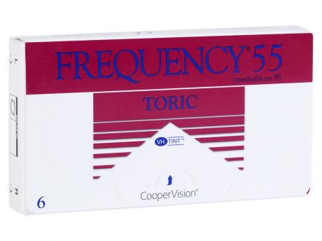 Frequency Toric Contact Lens