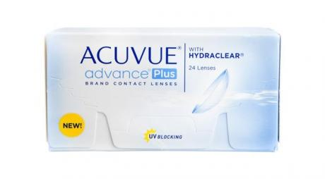 Acuvue Advance Plus Contact Lens Uses Demonstrating Hydraclear Technology