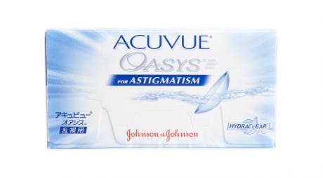 Acuvue Oasys for Astigmatism with ASD Technology