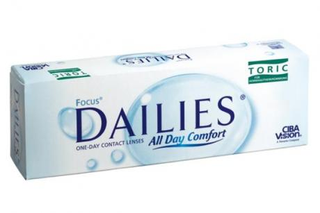 Focus Dailies Toric Contact Lenses barely require any maintenance at all