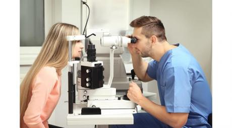 Laser Eye Surgery. Ophthalmology Devices