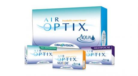 Types of Air Optix Lenses