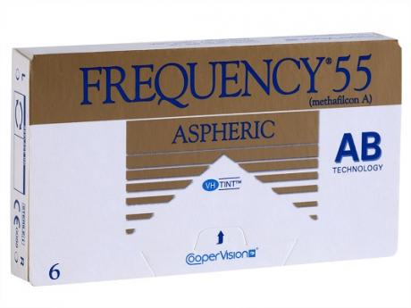 Frequency 55 Aspheric contact lens gave me the most clear vision of my life