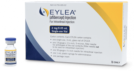 VEGF Trap Eye (Eylea) Intraocular Injection