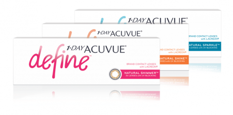 Acuvue Define Contact Lenses