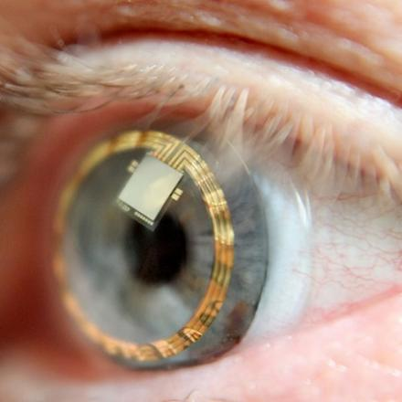Smart Contact Lenses​ that measure intraocular pressure